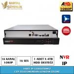 16 Kanal Nvr Kayit Cihazı- 156
