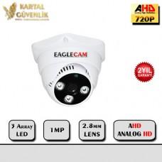 2 MP 3 Array Led 3,6 MM Lens AHD Dome Kamera- 204