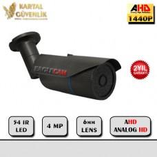 4 MP 54 IR Led 6 MM Lens AHD Kamera- 213